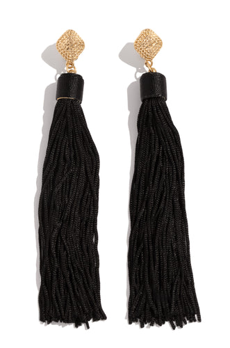 Adaila Earring - Black