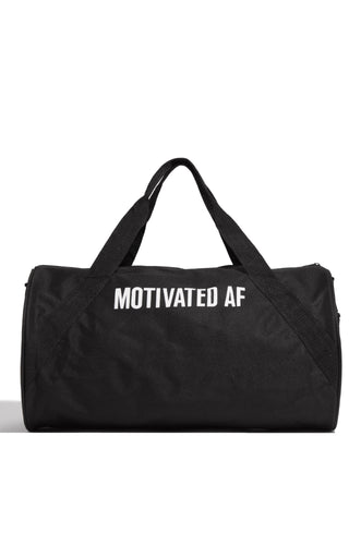 Motivated AF Duffle Bag - Black