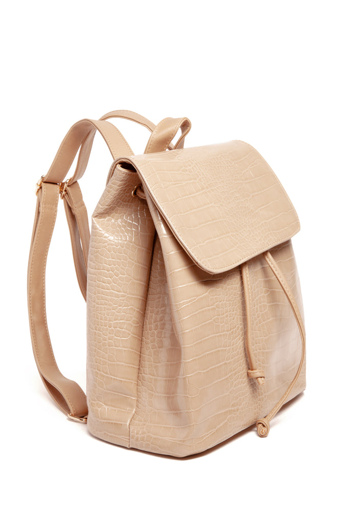 Chic Habits Backpack - Nude