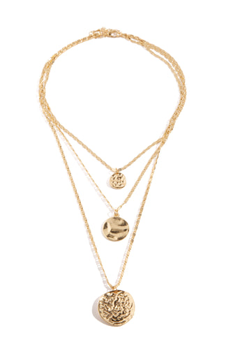 Ezra Necklace - Gold