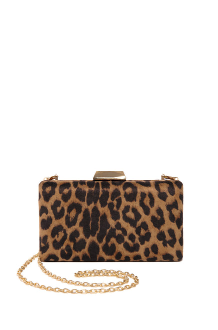 Get Fierce Clutch - Leopard