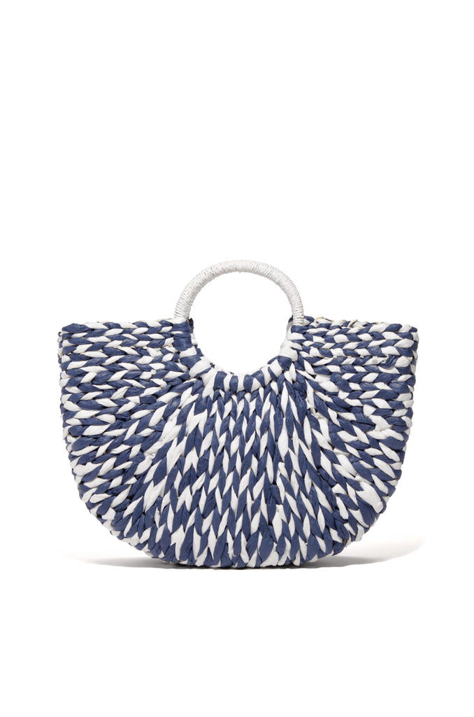 Villa Azul Bag - Blue White
