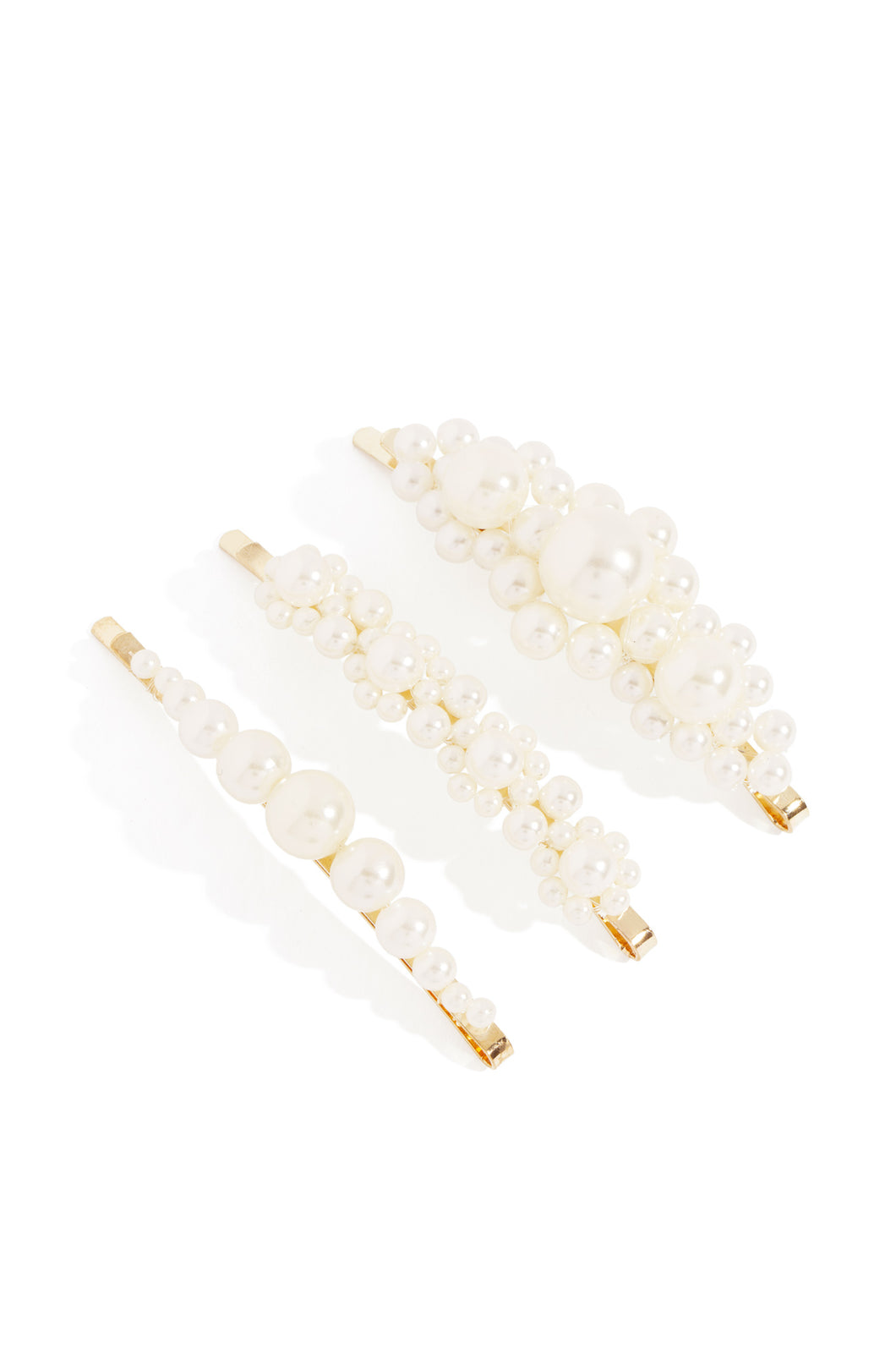 Madison Hair Clips - Gold