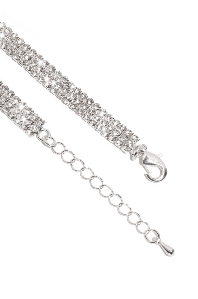 Desiree Anklet - Silver