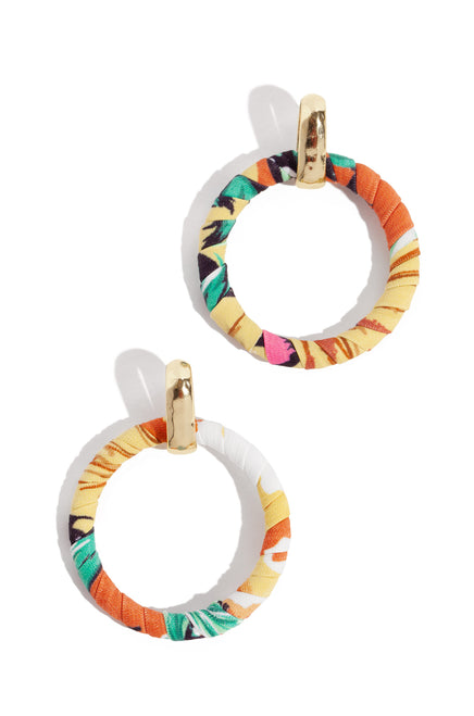 Mimosa Earring - Yellow Multi