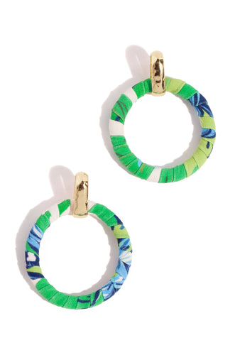 Mimosa Earring - Green Multi
