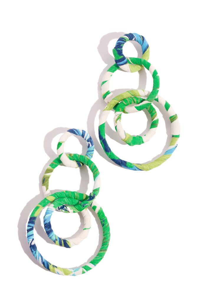 Paloma Earring - Green Multi