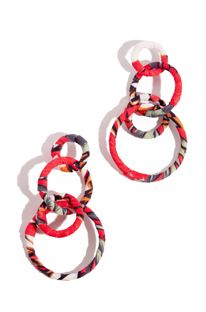 Paloma Earring - Red Multi