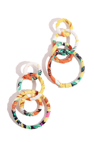 Paloma Earring - Yellow Multi
