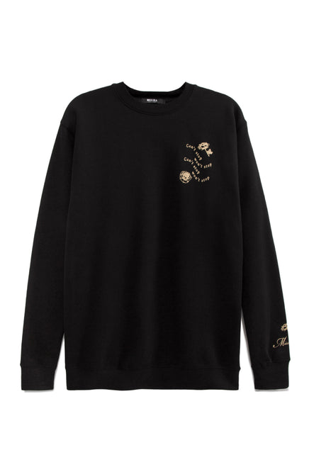 Can't Stop Crewneck - Black