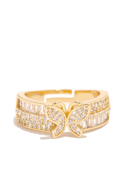 Spread Your Wings Ring - Gold