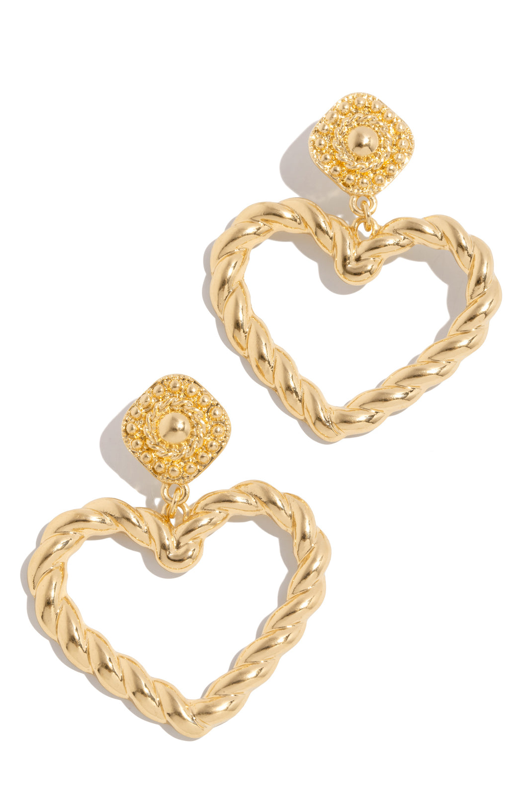 Twisted Love Earring - Gold