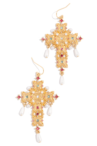Queen Of The Night Earring - Gold