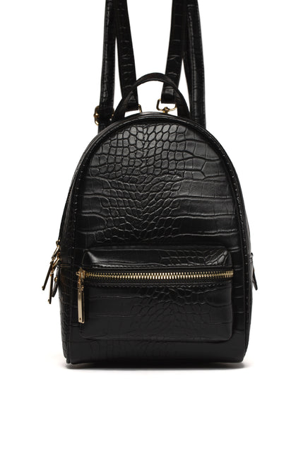 Sin Trip Mini Backpack - Black