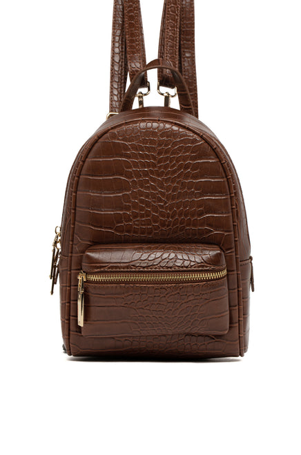 Sin Trip Mini Backpack - Camel