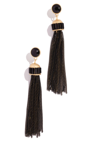 Sangria Earring - Black