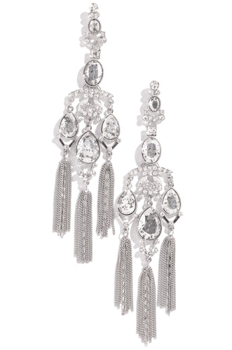 Summer In Spain Earring - Silver