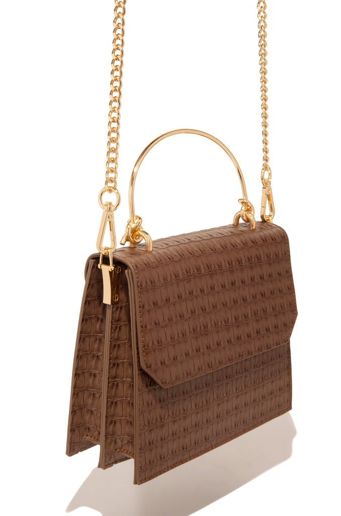 City Skyline Bag - Cognac