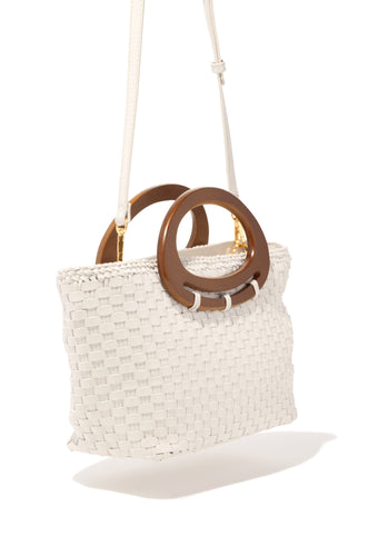 Fly To Cabo Bag - Ivory