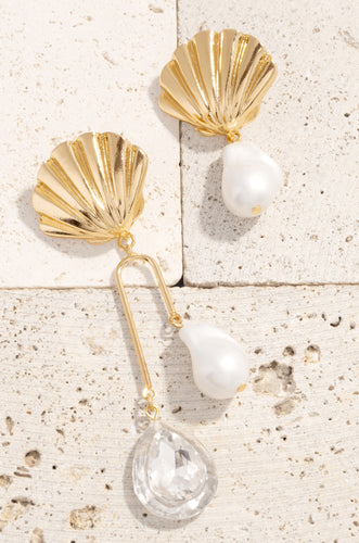 Sea La Vie Earring - Gold
