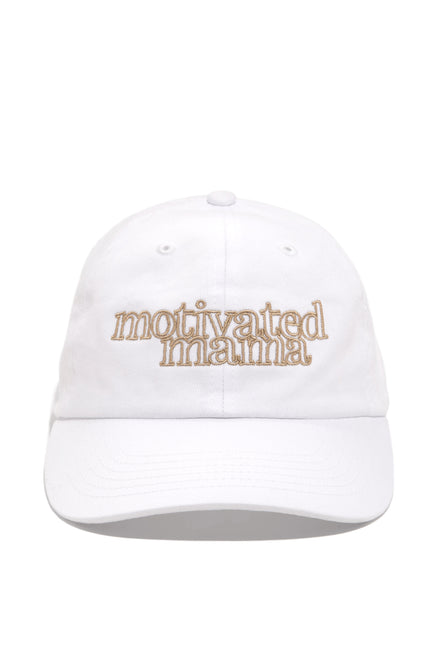 Motivated Mama Hat - Nude
