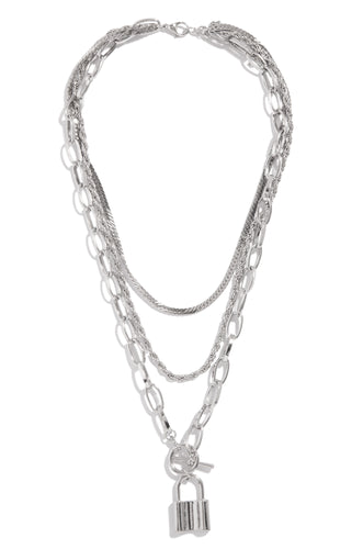 Alexandra Necklace - Silver
