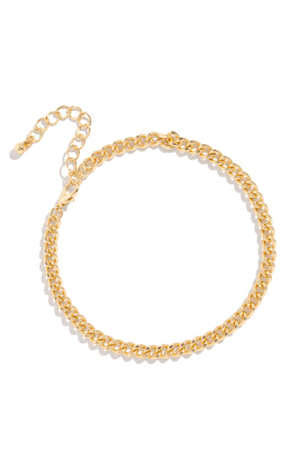 Delaney Anklet - Gold