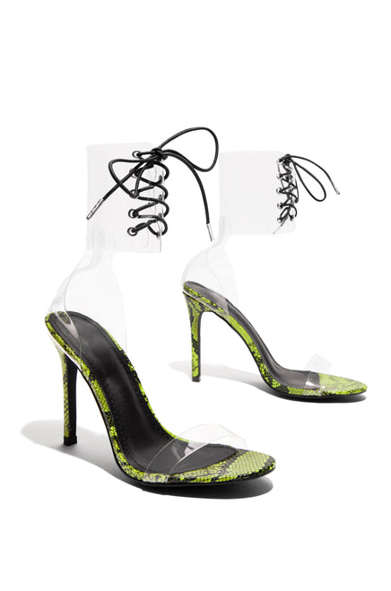 Provocative - Neon Yellow Snake