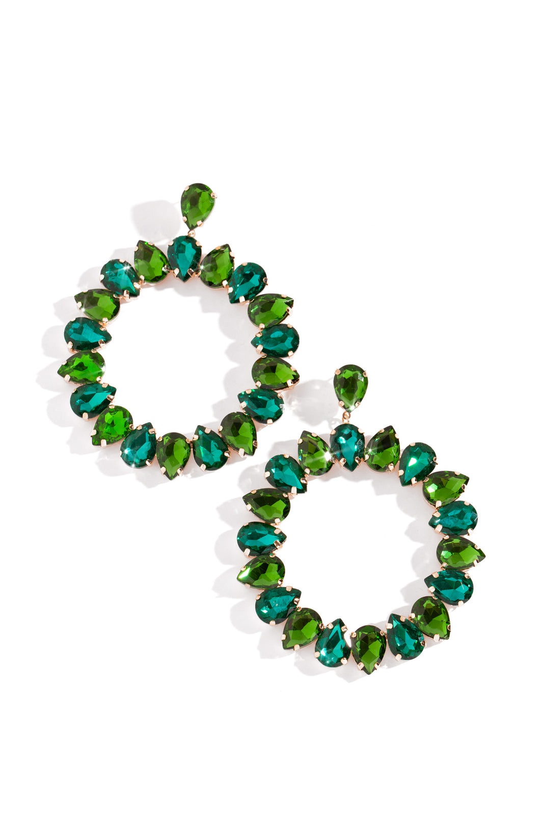 Emeretta Earring - Emerald