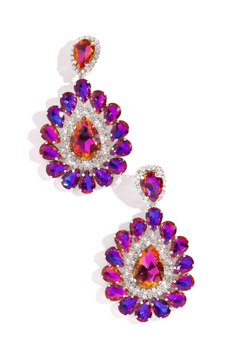 Annette Earring - Purple