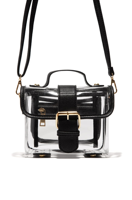 Keep It Cute Mini Bag - Clear Black