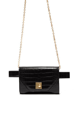 High Style Belt Bag - Black