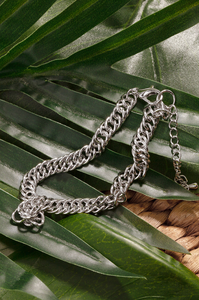 Bailey Anklet - Silver