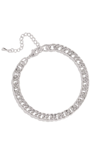 Zariah Anklet - Silver