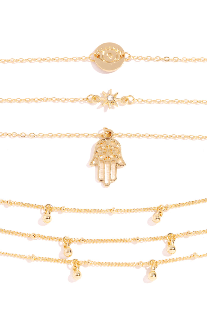 Truth Bracelet Set - Gold