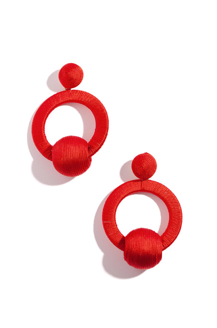 Clara Earring - Red