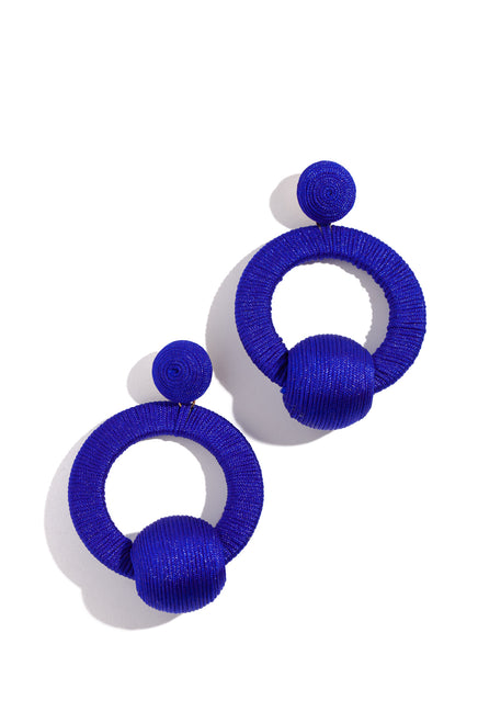 Clara Earring - Royal Blue
