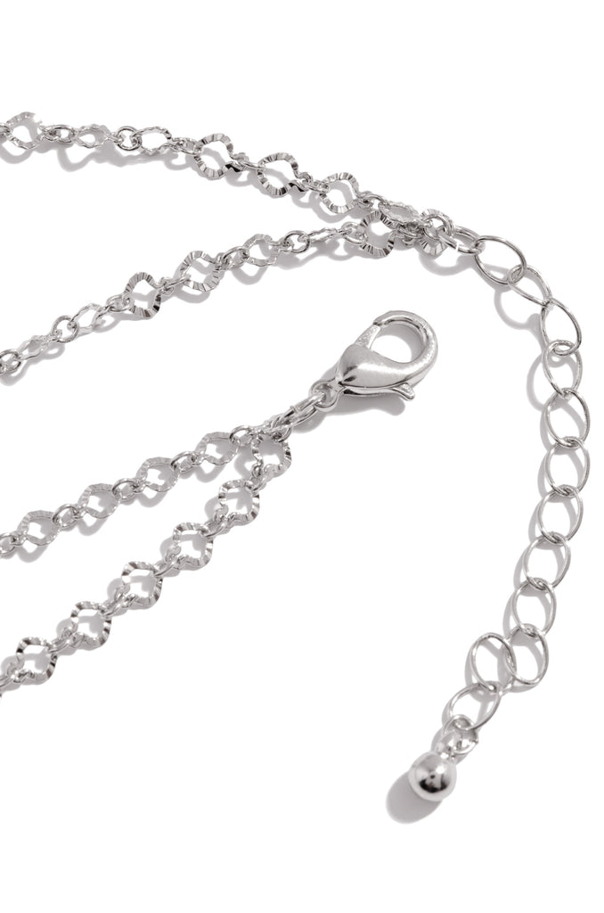 Dare To Fly Anklet - Silver