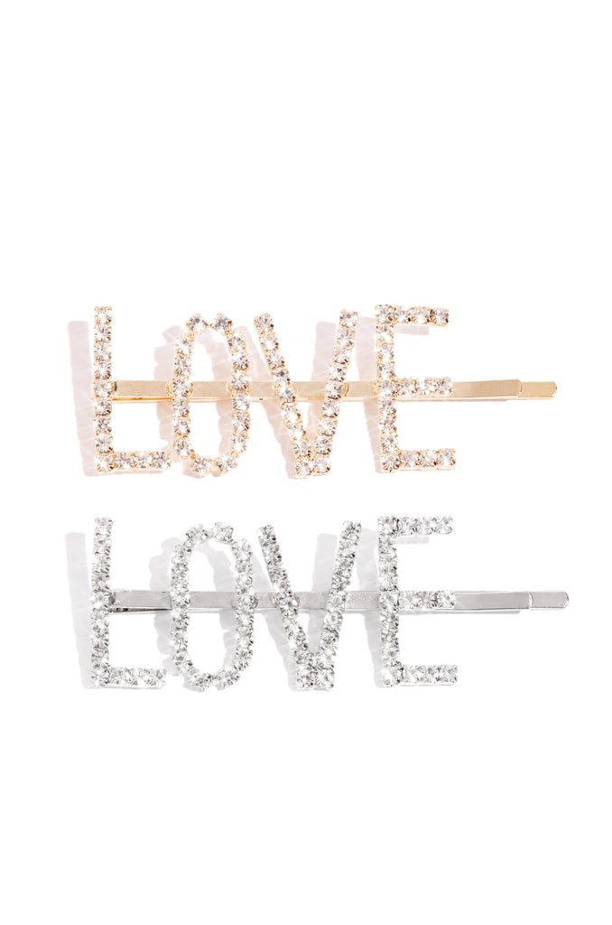 So In Love Hair Clip - Gold