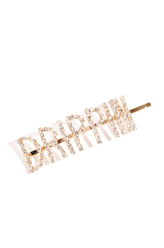 Drippin Hair Clip - Gold