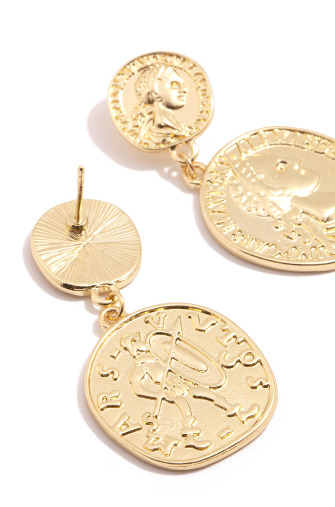 Fortuna Earring - Gold