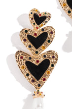 El Amor Earring - Black