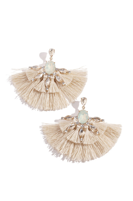 Sultry Summer Earring - Ivory