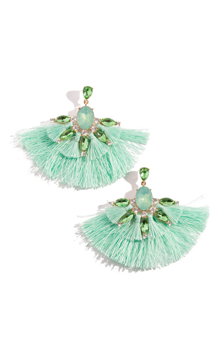 Sultry Summer Earring - Mint