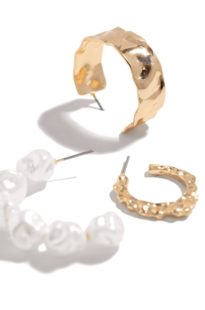 Amari Earring Set - Gold