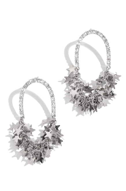 Starry Nights Earring - Silver