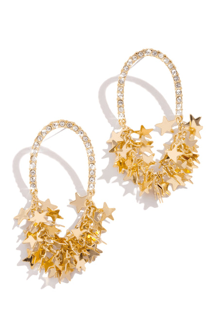 Starry Nights Earring - Gold