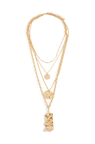 Irina Necklace - Gold