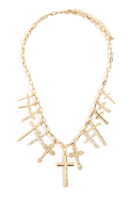 In Your Glory Necklace - Gold