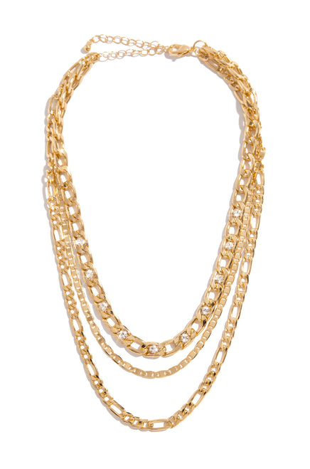 Edith Necklace - Gold